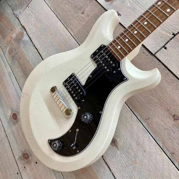 PRS S2 Mira in Antique White with Dot Inlays Dots Electric Guitar